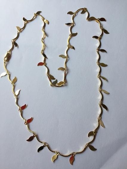 Collar Dama Oro Laminado 18k