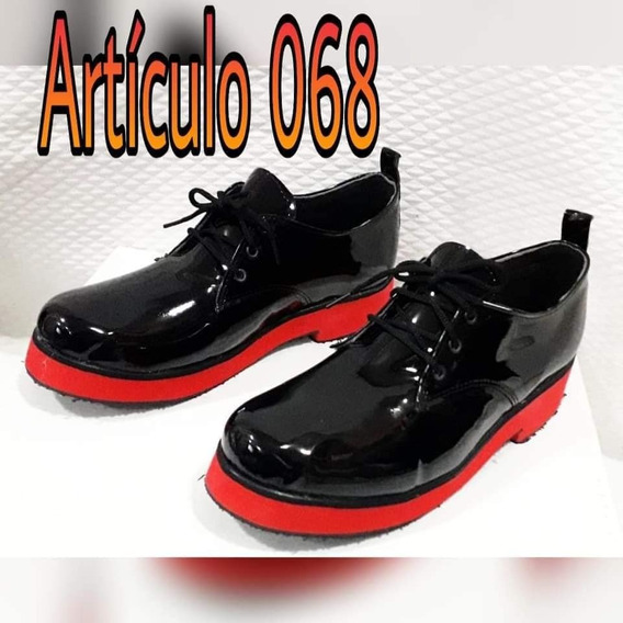 Zapatos Dama Acordonados Charol Art 068 Moda Primavera Verano 2020 Chic