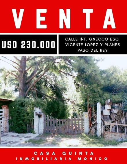 Casa Quinta En Venta A 7 Cuadras Del Puente Gnecco