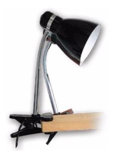Lampara Escritorio Con Pinza E27 Para Lampara Bulbo Led 220v