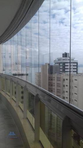 Imagem 1 de 30 de Apartamento Com 3 Dormitórios À Venda, 127 M² Por R$ 1.750.000,00 - Centro - Florianópolis/sc - Ap2436