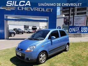 Chevrolet Spark Lt 1.0 2014 Azul 5 Puertas