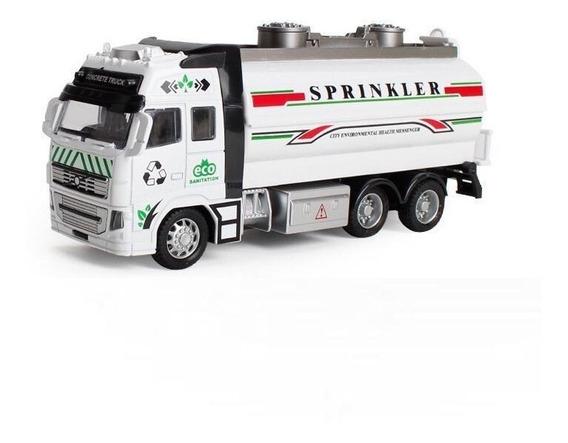 Camion Tanque Excavador Volvo Esc1:38 Coleccion Metalico