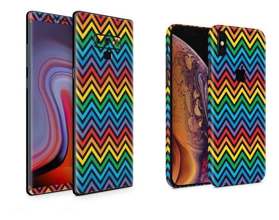 Skin Zig Zag Apple Samsung Huawei Lg Sony Xiaomi Etc