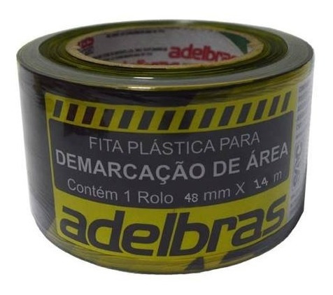 Cinta Demarcación De Piso Con Adhesivo 48mm X 14m G P
