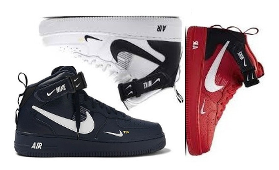 Tênis Nike Air Force Tm One Promoção Kit 3 Pares Envio 24h