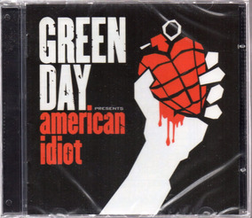 Cd Green Day American Idiot Lacrado Frete 12,00