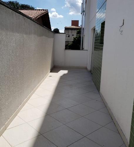 Apartamento Com Área Privativa Com 3 Quartos Para Comprar No Serrano Em Belo Horizonte/mg - And1485