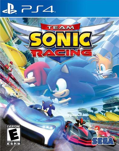 Team Sonic Racing Juego Ps4 Original Play 4 + Garantía