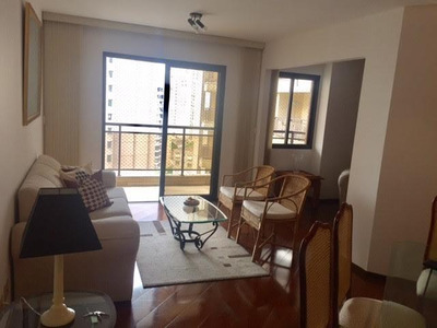 Flat/apartamento Alto Padrão À Venda Em Moema - 3 Dormitórios Sendo 1 Suíte! Condomínio Completo! - Fl0628