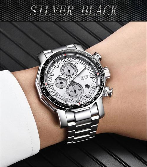 Relógio - Lige 45mm - Multi Funcional - Hardlex