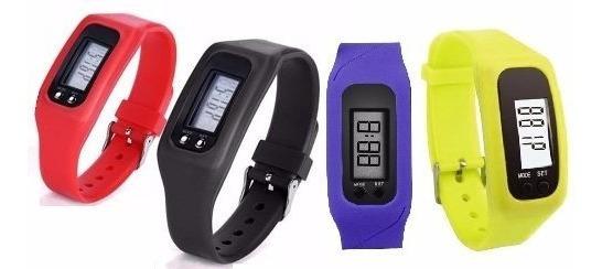 Reloj Podometro Lcd Contador Pasos Distancia-calorías
