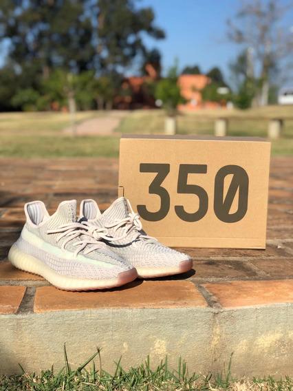 Tênis adidas Yeezy Boost 350 V2 Novo Citrin Número 39