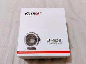 Lançamento Viltrox Ef-m2 Ii Mft Panasonic Bmpcc Speedbooster