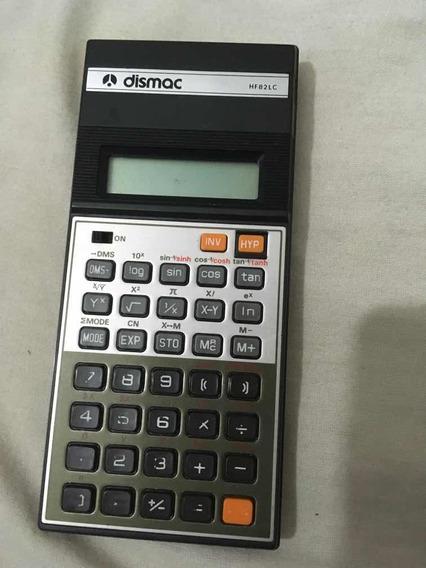 Calculadora Científica Dismac Hf 82lc Funcionando Com Manual