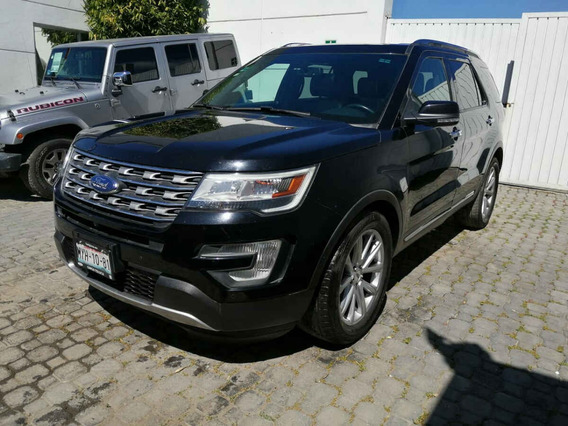 Ford Explorer 2016 7p Limited V6/3.5 Aut Piel