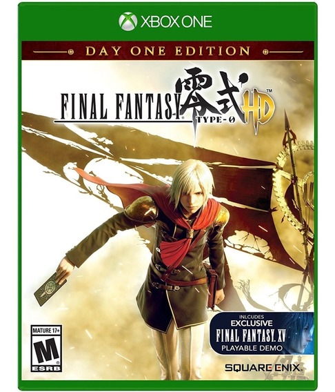 Final Fantasy Type 0 Day One Xbox One Midia Fisica Original