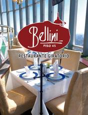 Certificados De Regalo Para Restaurante Giratorio Bellini
