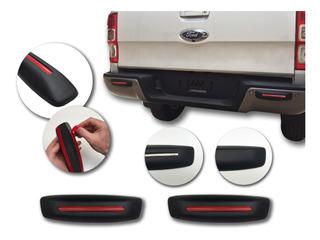 Paragolpes trasero graneados brumoso negro se adapta para Ford EcoSport a partir de 2013-09//2017