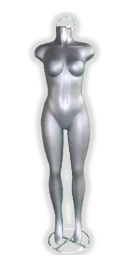 Maniquí Mujer Completo Fibra De Vidrio Barato Envio Gratis