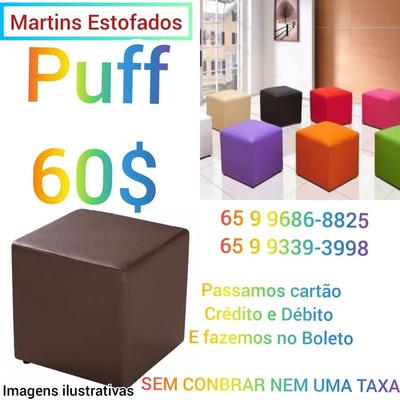 Puffes Quadrados Por 60,00$