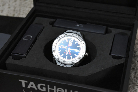 Tag Heuer Connected Modular Titanium 45mm Completo 2018