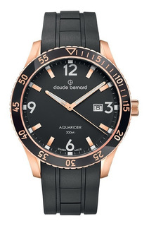 Reloj Claude Bernard Aquarider 5300837rncanir Hombre