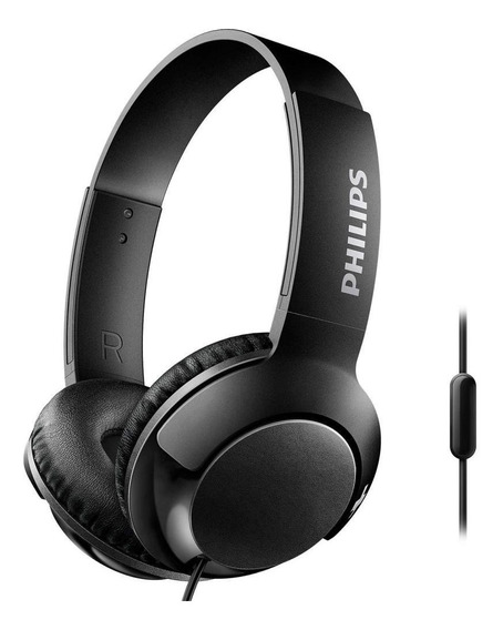 Fone Philips Shl3075 Bass + Preto Branco Headphone Microfone