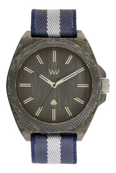 Relógio, Wewood, Phoenix 46 Teak Blue