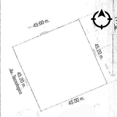 Terreno Venta Av. Tecnologico 16,680,000 Frazer Gl3