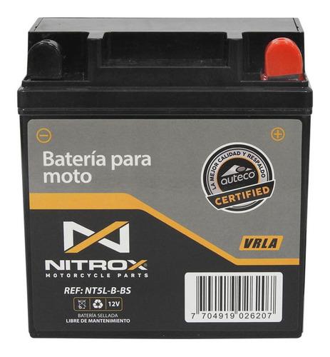 Imagen 1 de 2 de Batería Nitrox  Moto Discover 125