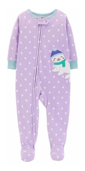 Pijama Micropolar Nena Rn A 24meses Carters