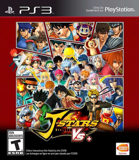 J-stars Victory Vs+ Japonés Ps3 Gcp
