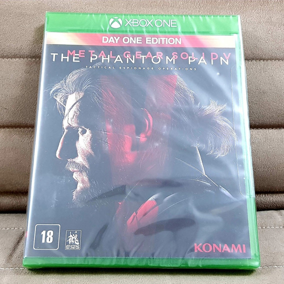 Xbox One Metal Gear Solid V 5 Phantom Pain ( Mídia Física )