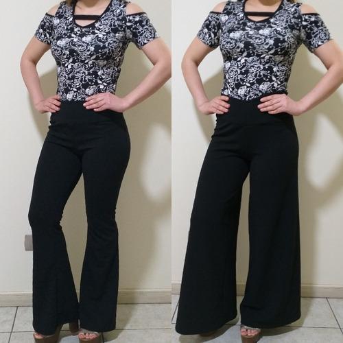 Elegante Pantalon Pata Elefante Mercado Libre