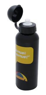 Squeeze Aluminio Kiko Gentalha Preto E Amarelo 500ml