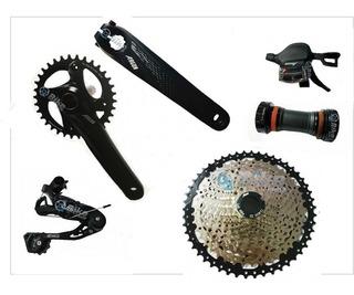 Kit Bike Transmissão Argon 1x12 Velocidades Mtb K7 11/50d