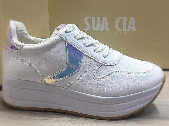 Tênis Flatform Sua Cia Soft Branco Ref 12463