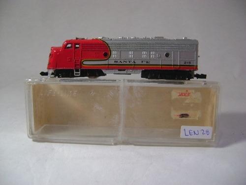 Imagen 1 de 10 de Nico Loco Diesel F7 N°215 Santa Fe Trix N (len 28)