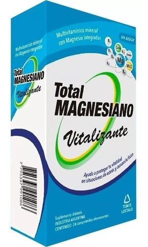 Total Magnesiano Vitalizante 24 Comp Eferv Magistral Lacroze