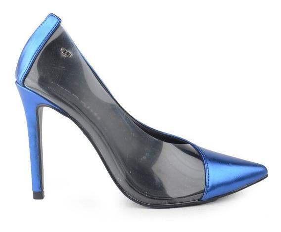 Zapatos Stilettos De Mujer De Cuero Ecológico Naples Ferraro
