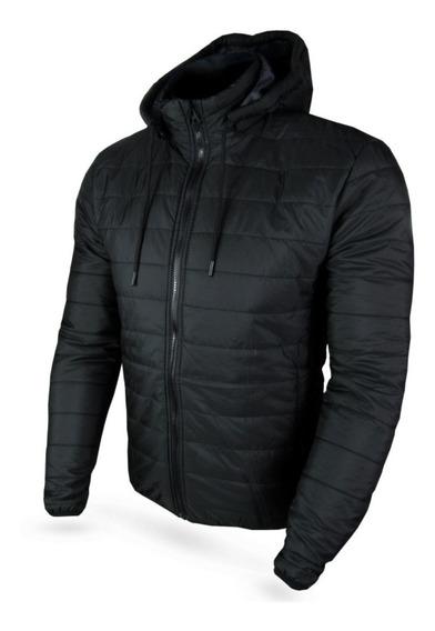 Blusa Jaqueta Casaco Com Capuz Zíper Masculina Super Quente