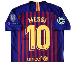 Jersey Barcelona Messi 10, Champions 2019. Local Visita Terc