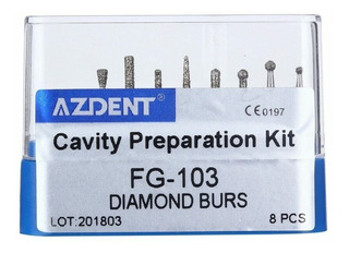 16 Fresas Diamante Dent Preparacion Cavidades 2 Kits