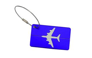 Etiqueta - Mala - Viagem, Tag - Identificação Kit 4 Unidades