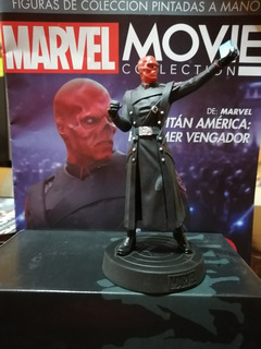 Figura Red Skull Marvel Movie Colection Planeta De Agostini