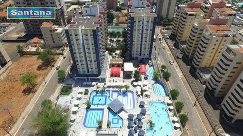 Imagem 1 de 25 de Apartamento Com 1 Dormitório À Venda, 44 M² Por R$ 100.000,00 - Do Turista - Caldas Novas/go - Ap0160