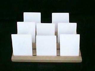 Tablas Exhibidoras De Zarcillos (topitos) Fabricadas En Mdf.