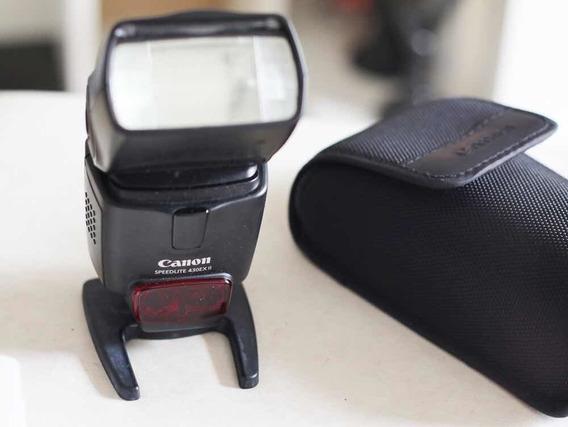 Flash Canon 430ex Ii Speedlite Original Usado + Difusor