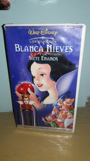 Vhs Disney Blanca Nieves Edición De Colección